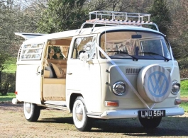 1970 VW Campervan for weddings in Brighton